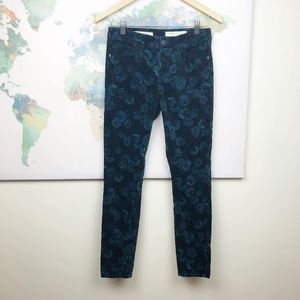 Pilcro and the Letterpress Velvet Pants Size 26
